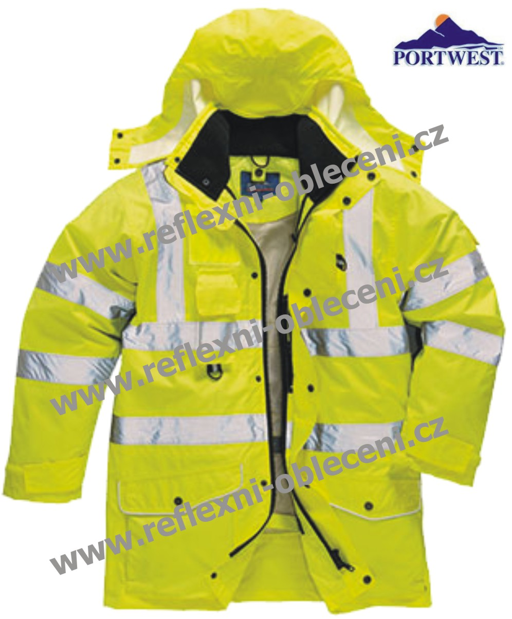 HI-VIS BUNDA 7V1 TRAFFIC Portwest-s427